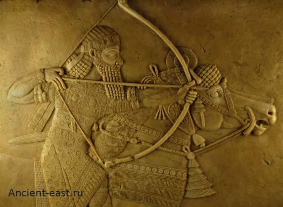 Ашшурбанапал - великий царь Ассирии.