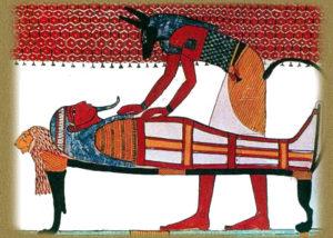 Анубис - бог Египта.