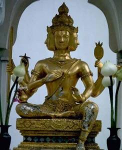Бог Брахма творец и демиург.