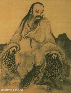 Фу-Си древний герой Китая.