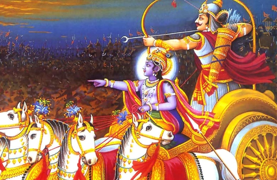 Индуистская мифология - махабхарата.