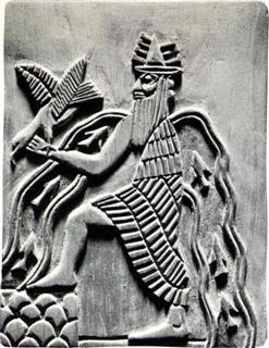 Бог Энки - шумерский бог.