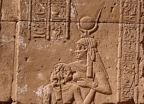 Древний Египет - богиня Исида.