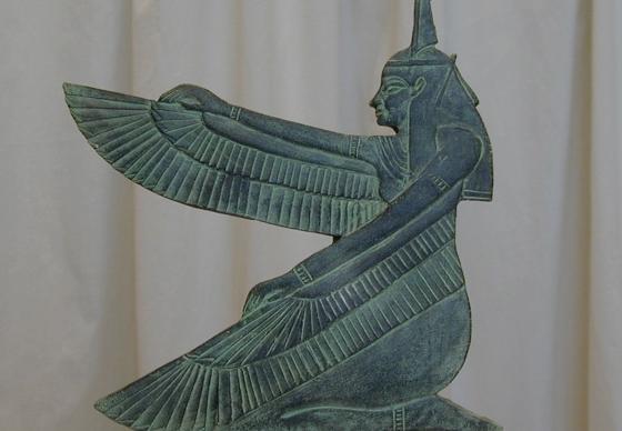 Богиня Маат и ее изображение.
