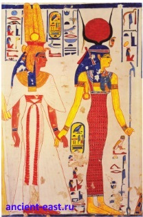 Исида - богиня плодородия.