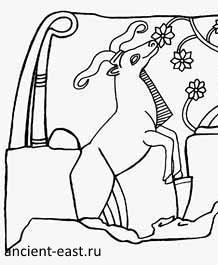 Богиня Лахар.