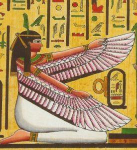 Богиня Маат.