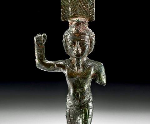 Онурис (Анхур) - бог охоты в Древнем Египте. ancient-east.ru