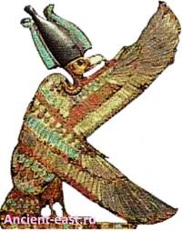 Богиня Нехбет - покровительница фараона.