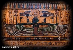 Нут богиня - неба в египетской мифологии.