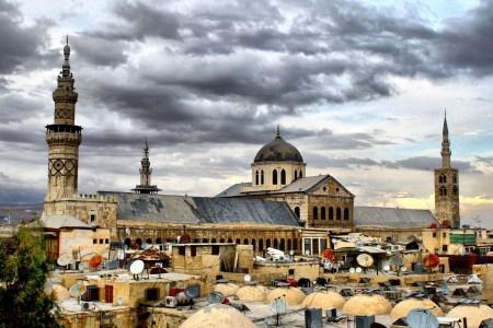 Мечеть Омейядов - Дамаск.