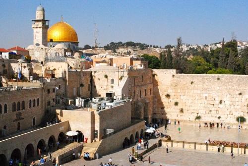 Стена плача Иерусалим.