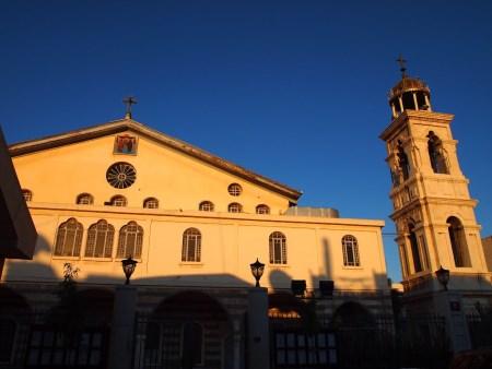 Собор Девы Марии город Дамаск.