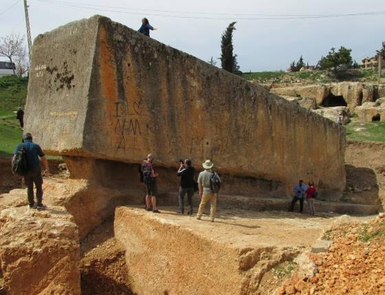 Южный камень - мегалит Баальбека.