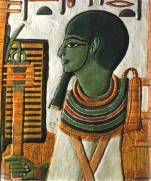 Бог Птах в древнем Египте.