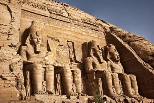 Храм Рамзеса Абу Симбел.