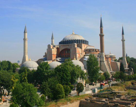 Ссобор Св. Софии в Стамбуле.