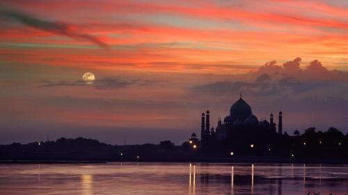 Индия красивые фото - дворец.