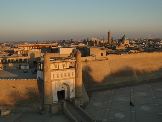Крепость Арк в городе Бухара.