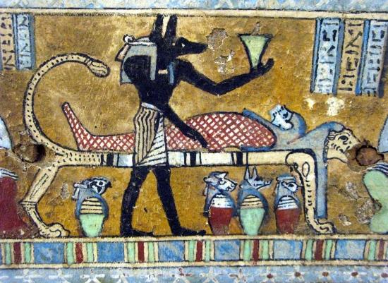 Мумификация - египетский обряд.