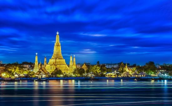 Храмы Таиланда - древний храм.