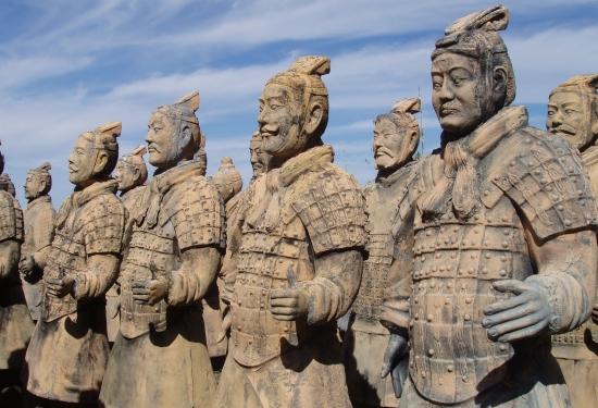 Терракотовая армия великого императора .