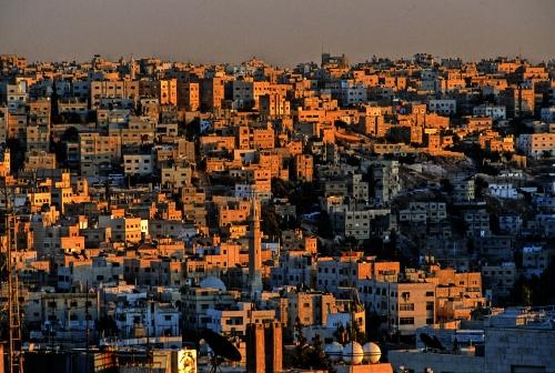 Амман - панорама старого города.