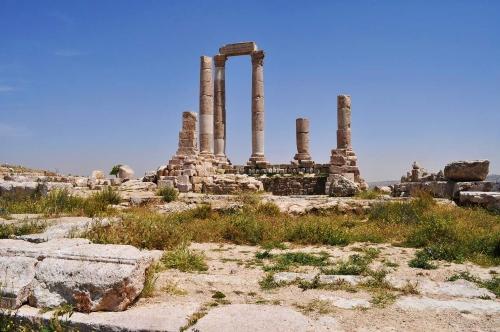 Джебель каляа (Крепостная гора) изображение храма.