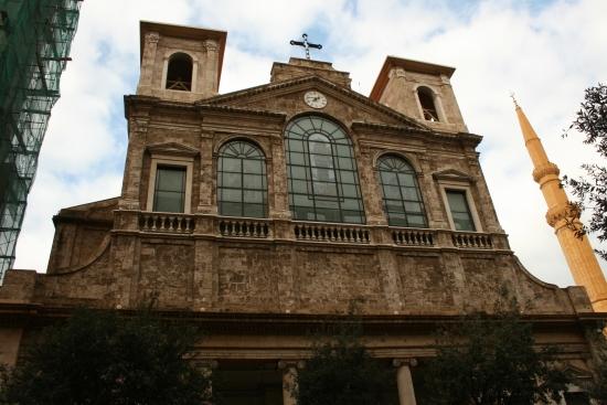 Маронитский Кафедральный собор св.Георгия горо Бейрут.