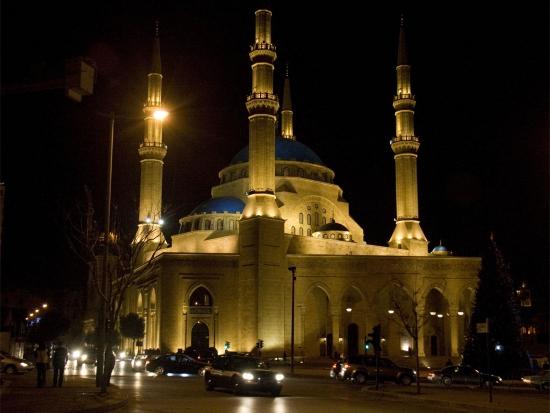 Мечеть Мохаммад аль-Амин столица Ливана.