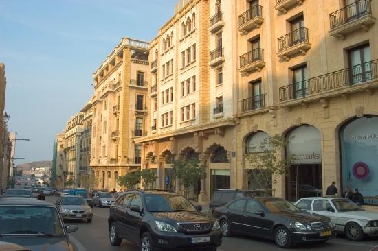 Улица Бейрута - фотография.