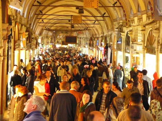 День из жизни Стамбульского базара.