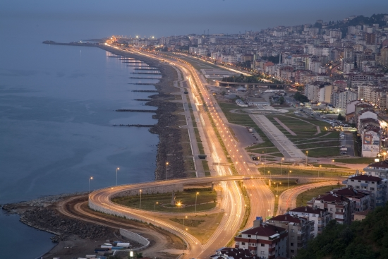 Город Трабзон - курорт на севере Турции.