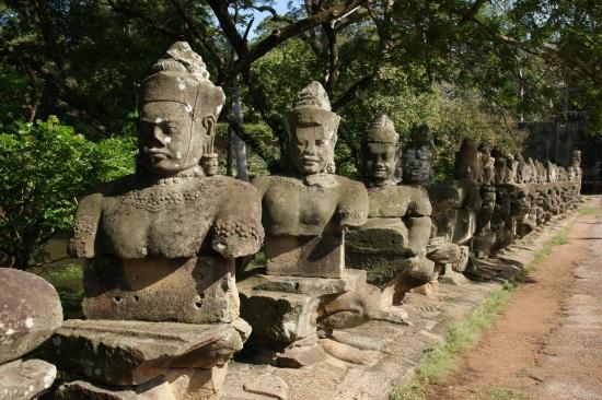 Ангкор Тхом - Камбоджа.