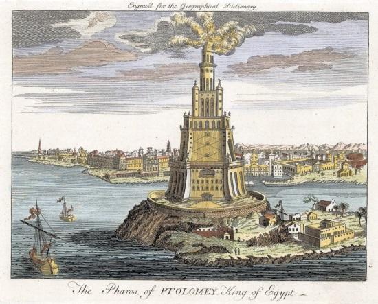 Александрийский маяк - Египетское сооружение.