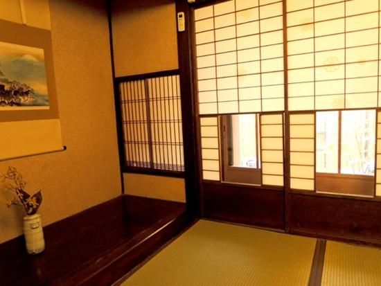Отель в Японии - старые традиции.