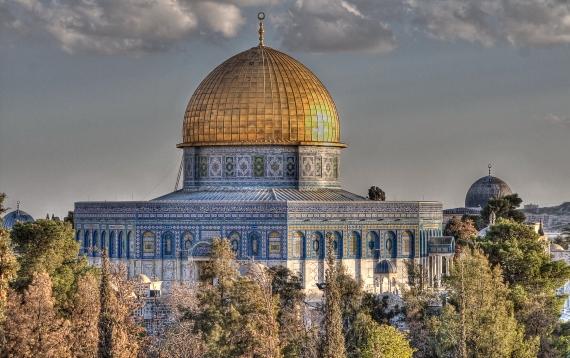 Мечеть аль-Акса - Является третьей святыней ислама после мечети аль-Харам в Мекке и Мечети Пророка в Медине..