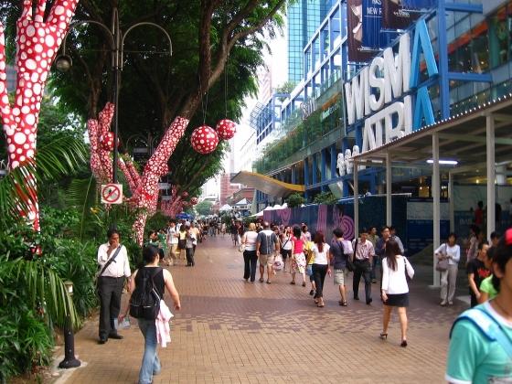 Орчард - роуд - главная улица Сингапура.