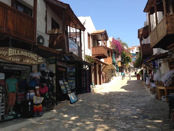 Каш Турция - красивый древний город.