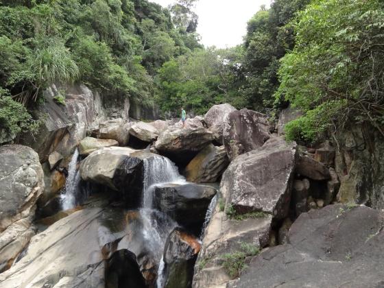 Водопад Бахо - фото места.