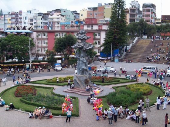 Далат - город и туристический центр Вьетнама.