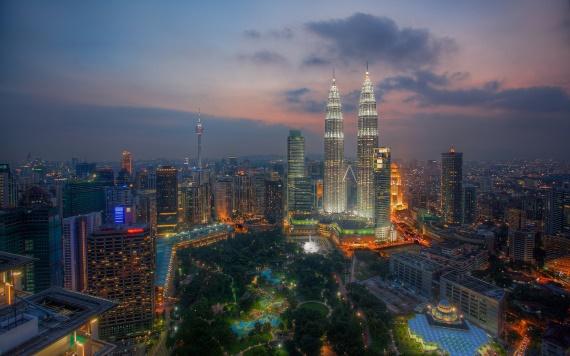 Куала Лумпур Малайзия - главный парк страны.