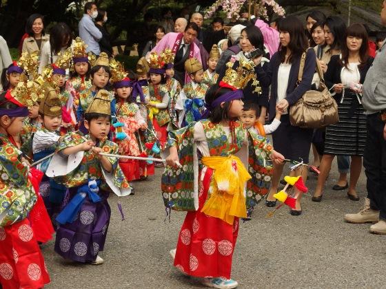 Фестиваль цветов в Япони он же Хана Мацури.