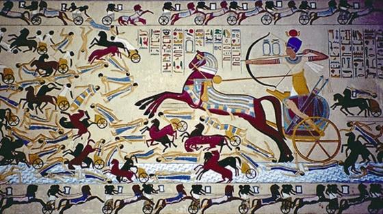Яхмос I - основатель XVIII династии.