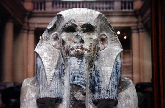 Фараон Джосер - первый фараон III династии, портрет фараона древнего царства.