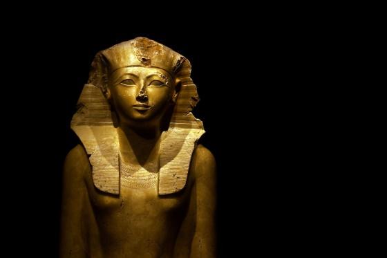 Хатшепсут - женщина-фараон Нового царства Древнего Египта.