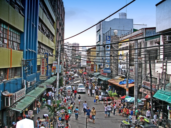 Место путешествия - столица государства Филиппины город Манила.