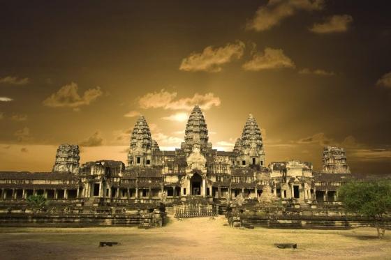 Ангкор - древний город в Камбодже.