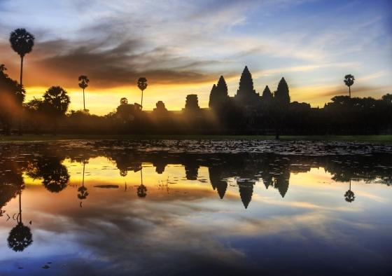 Ангкор Ват - на рассвете.