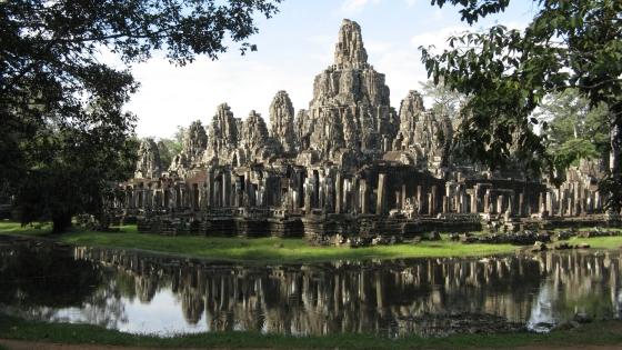 Храм Ангкора - один из храмов города.